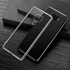 Coque Ultra Slim Silicone Souple Transparente pour Huawei Mate 30 Lite Clair