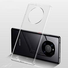 Coque Ultra Slim Silicone Souple Transparente pour Huawei Mate 40 Pro+ Plus Clair