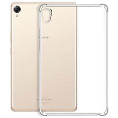 Coque Ultra Slim Silicone Souple Transparente pour Huawei MediaPad M6 10.8 Clair