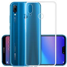 Coque Ultra Slim Silicone Souple Transparente pour Huawei Nova 3 Clair