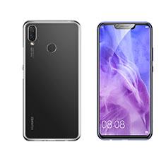 Coque Ultra Slim Silicone Souple Transparente pour Huawei Nova 3i Clair