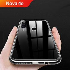 Coque Ultra Slim Silicone Souple Transparente pour Huawei Nova 4e Clair