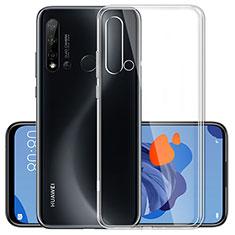Coque Ultra Slim Silicone Souple Transparente pour Huawei Nova 5i Clair