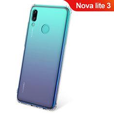 Coque Ultra Slim Silicone Souple Transparente pour Huawei Nova Lite 3 Clair