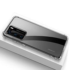 Coque Ultra Slim Silicone Souple Transparente pour Huawei P40 Clair
