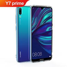 Coque Ultra Slim Silicone Souple Transparente pour Huawei Y7 Prime (2019) Clair