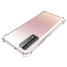 Coque Ultra Slim Silicone Souple Transparente pour Huawei Y7a Clair