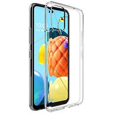 Coque Ultra Slim Silicone Souple Transparente pour LG Q52 Clair