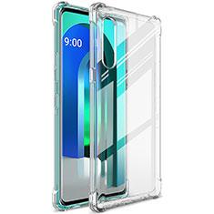 Coque Ultra Slim Silicone Souple Transparente pour LG Velvet 4G Clair