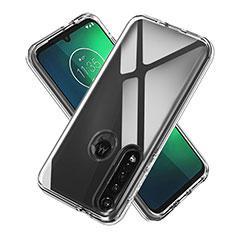 Coque Ultra Slim Silicone Souple Transparente pour Motorola Moto G8 Plus Clair