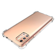 Coque Ultra Slim Silicone Souple Transparente pour Motorola Moto G9 Plus Clair