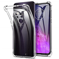 Coque Ultra Slim Silicone Souple Transparente pour Motorola Moto One Zoom Clair