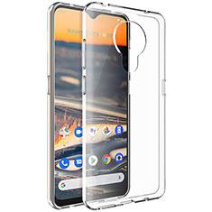 Coque Ultra Slim Silicone Souple Transparente pour Nokia 5.3 Clair
