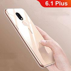Coque Ultra Slim Silicone Souple Transparente pour Nokia 6.1 Plus Clair