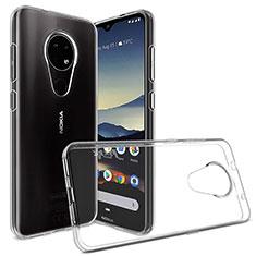 Coque Ultra Slim Silicone Souple Transparente pour Nokia 6.2 Clair