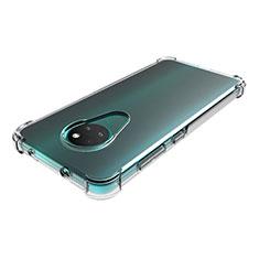 Coque Ultra Slim Silicone Souple Transparente pour Nokia 7.2 Clair