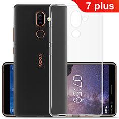 Coque Ultra Slim Silicone Souple Transparente pour Nokia 7 Plus Clair
