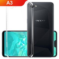 Coque Ultra Slim Silicone Souple Transparente pour Oppo A3 Clair