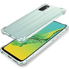 Coque Ultra Slim Silicone Souple Transparente pour Oppo A32 Clair