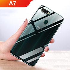 Coque Ultra Slim Silicone Souple Transparente pour Oppo A7 Clair