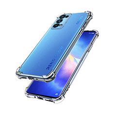 Coque Ultra Slim Silicone Souple Transparente pour Oppo Reno5 Pro 5G Clair