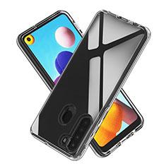 Coque Ultra Slim Silicone Souple Transparente pour Samsung Galaxy A21 Clair
