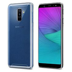 Coque Ultra Slim Silicone Souple Transparente pour Samsung Galaxy A6 Plus Clair