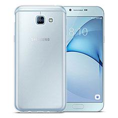 Coque Ultra Slim Silicone Souple Transparente pour Samsung Galaxy A8 (2016) A8100 A810F Clair