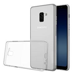 Coque Ultra Slim Silicone Souple Transparente pour Samsung Galaxy A8 (2018) A530F Clair