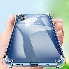 Coque Ultra Slim Silicone Souple Transparente pour Samsung Galaxy A8s SM-G8870 Clair