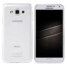 Coque Ultra Slim Silicone Souple Transparente pour Samsung Galaxy E7 SM-E700 E7000 Clair