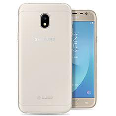 Coque Ultra Slim Silicone Souple Transparente pour Samsung Galaxy J3 Pro (2017) Clair
