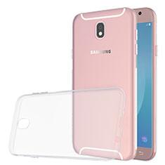 Coque Ultra Slim Silicone Souple Transparente pour Samsung Galaxy J5 (2017) SM-J750F Clair