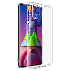 Coque Ultra Slim Silicone Souple Transparente pour Samsung Galaxy M51 Clair