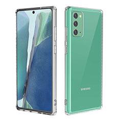 Coque Ultra Slim Silicone Souple Transparente pour Samsung Galaxy Note 20 5G Clair