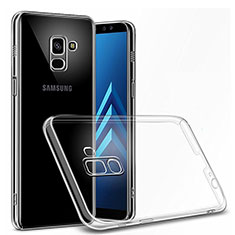 Coque Ultra Slim Silicone Souple Transparente pour Samsung Galaxy On6 (2018) J600F J600G Clair