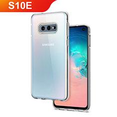 Coque Ultra Slim Silicone Souple Transparente pour Samsung Galaxy S10e Clair