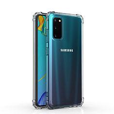 Coque Ultra Slim Silicone Souple Transparente pour Samsung Galaxy S20 5G Clair