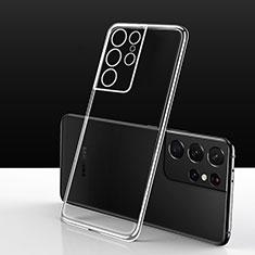 Coque Ultra Slim Silicone Souple Transparente pour Samsung Galaxy S21 Ultra 5G Clair