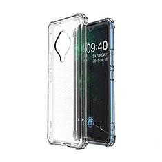 Coque Ultra Slim Silicone Souple Transparente pour Vivo X50e 5G Clair