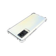 Coque Ultra Slim Silicone Souple Transparente pour Vivo X60 5G Clair