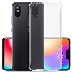 Coque Ultra Slim Silicone Souple Transparente pour Xiaomi Redmi 6 Pro Clair