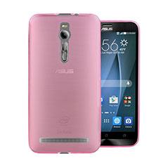 Coque Ultra Slim TPU Souple Transparente pour Asus Zenfone 2 ZE551ML ZE550ML Rose