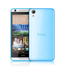 Coque Ultra Slim TPU Souple Transparente pour HTC Desire 626 Bleu