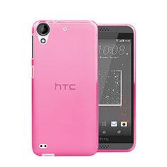 Coque Ultra Slim TPU Souple Transparente pour HTC Desire 630 Rose