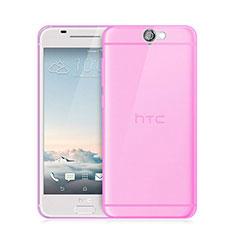 Coque Ultra Slim TPU Souple Transparente pour HTC One A9 Rose