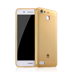 Coque Ultra Slim TPU Souple Transparente pour Huawei Enjoy 5S Or