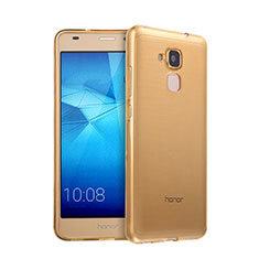 Coque Ultra Slim TPU Souple Transparente pour Huawei Honor 5C Or
