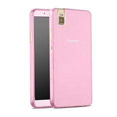Coque Ultra Slim TPU Souple Transparente pour Huawei Honor 7i shot X Rose