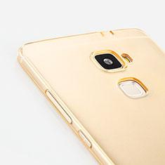 Coque Ultra Slim TPU Souple Transparente pour Huawei Mate S Or